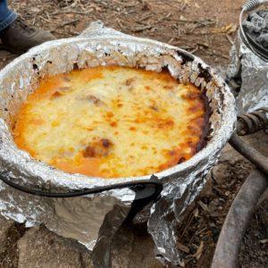 Dutch Oven Pizza - Yum