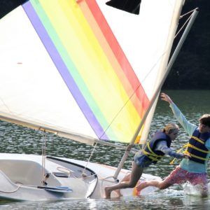 Learn to Right the Ship - Small Boat Sailing Merit Badge