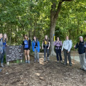Loblolly Trail - 6 miles with Packs - June 2021