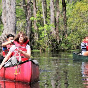 Merchants Millpond Canoe Trip - April 2021