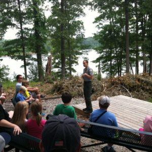 Pack 28 Falls Lake Dam Tour