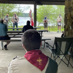 Troop Court of Honor and Awards Ceremony - April 2021